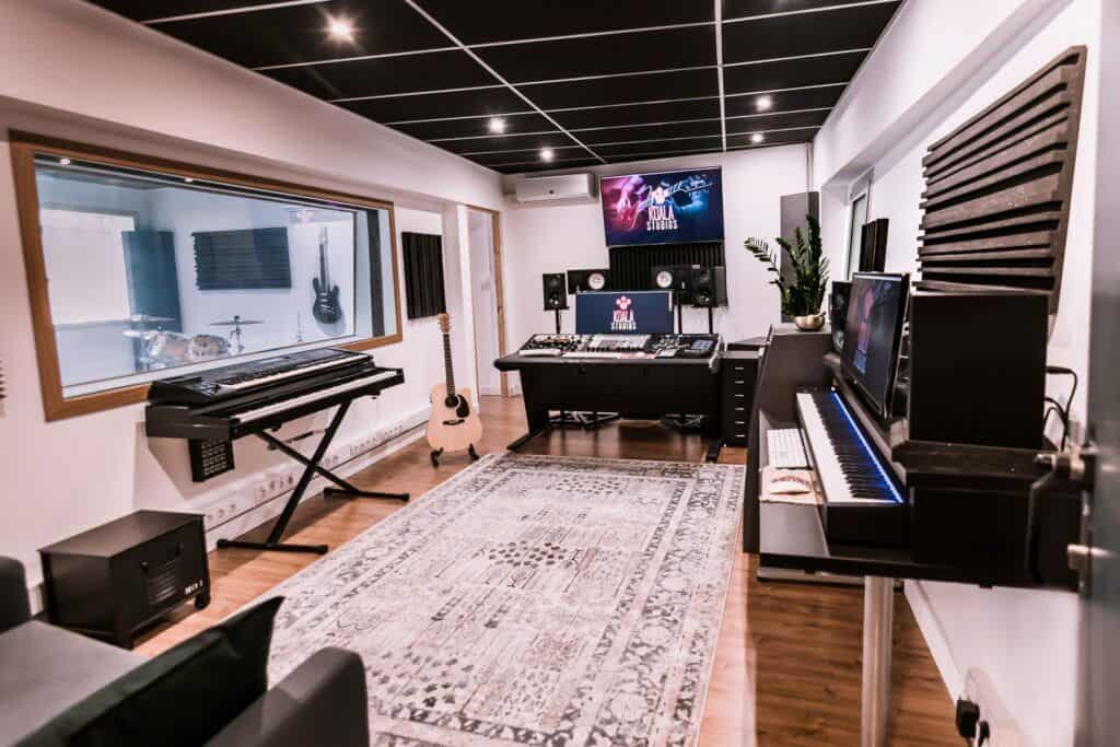 Control room or mixing room