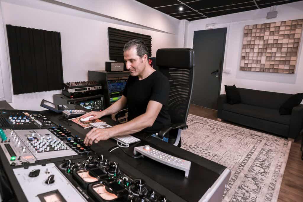 Estudio de grabación y productora musical en Barcelona