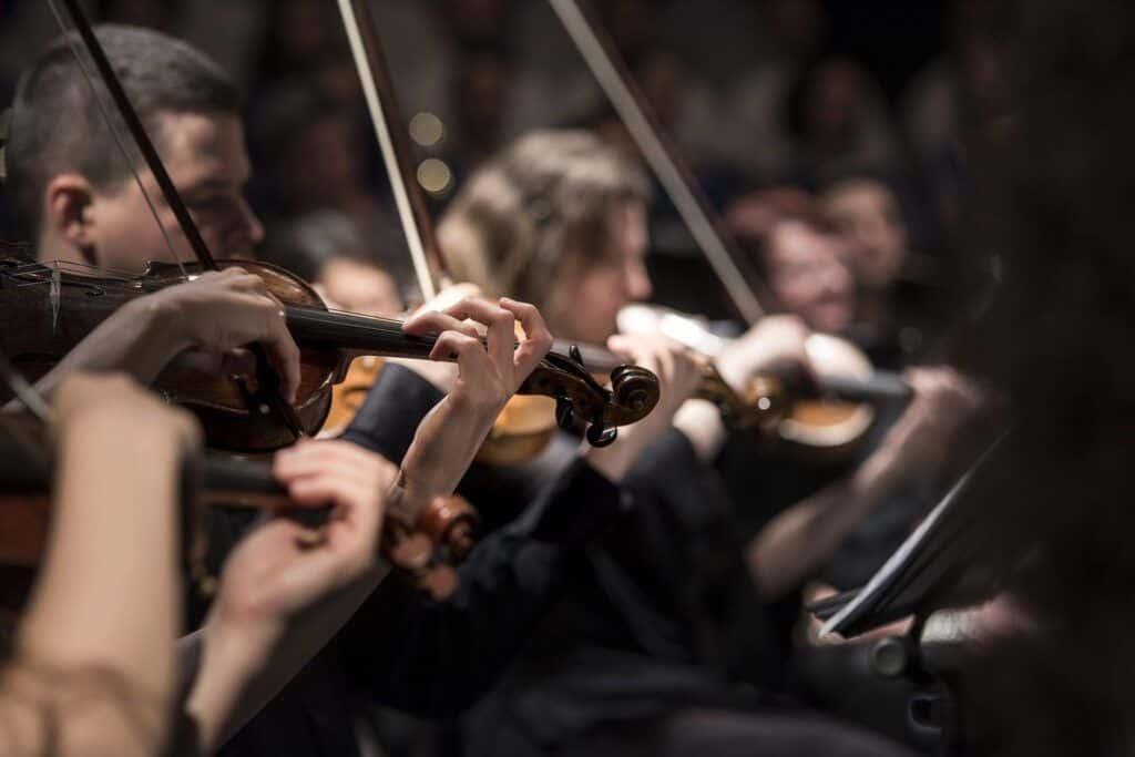 Grabación con orquesta sinfónica