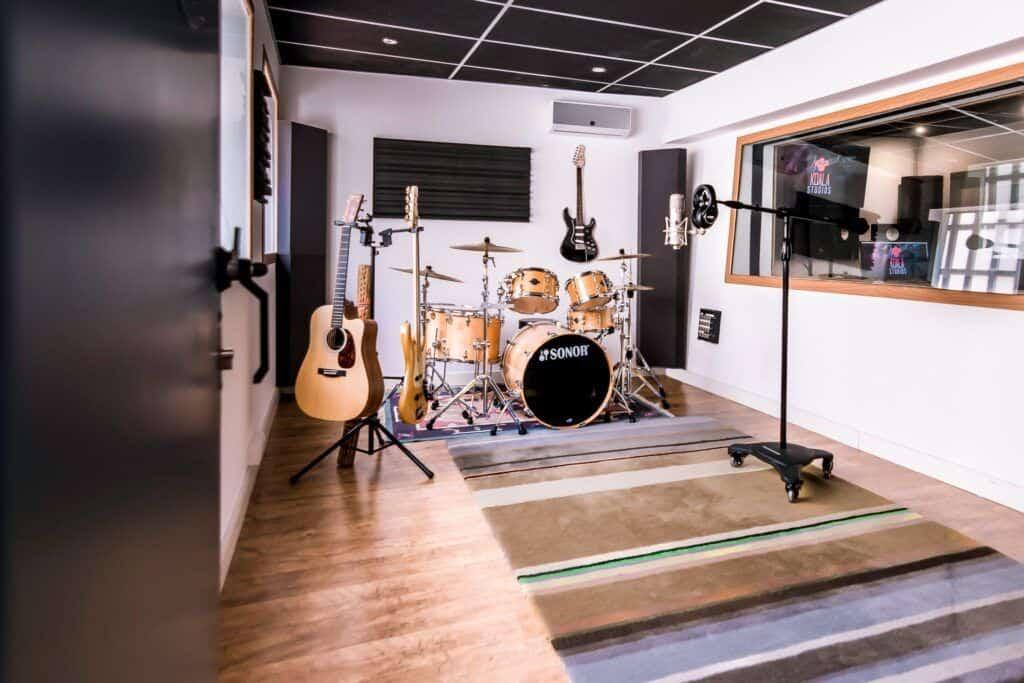 recording room at Koala Studios